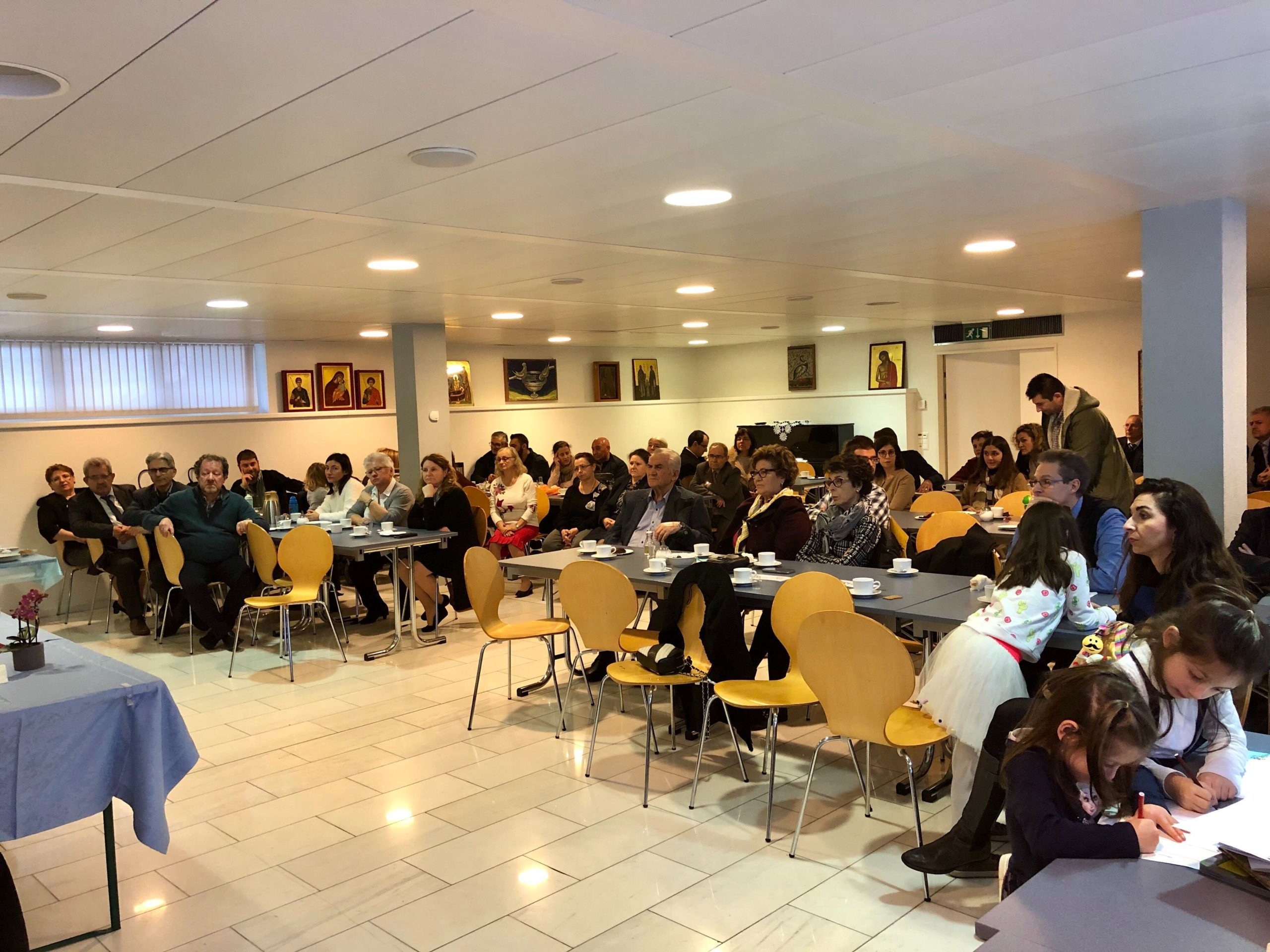 Ομιλία για τους νέους στην Ορθόδοξη ενορία της βασιλείας της Ιεράς Μητροπόλεως Ελβετίας