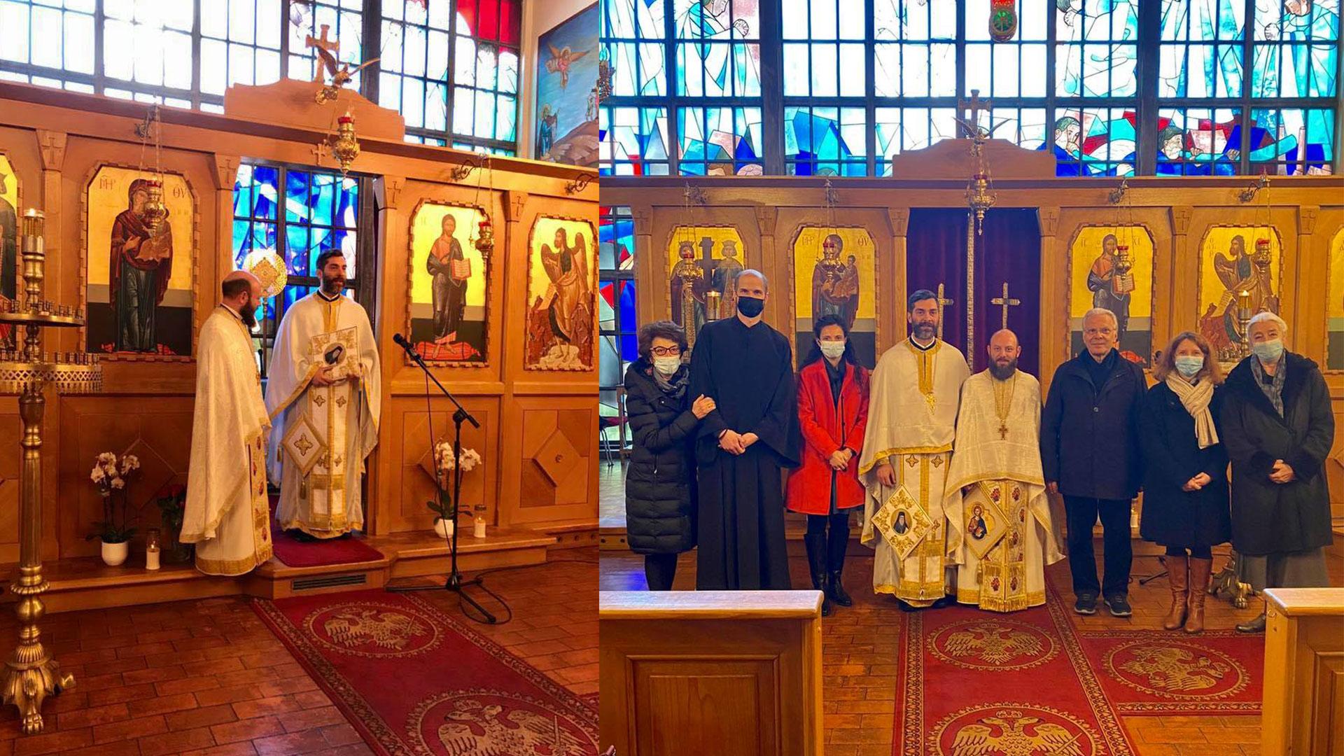 Επίσκεψη στην Ενορία του St. Gallen